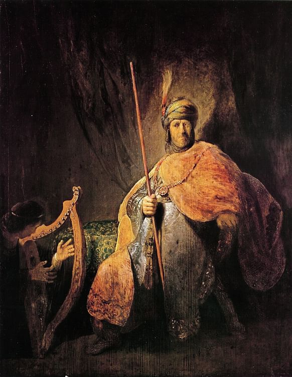 David & Saul by Rembrandt