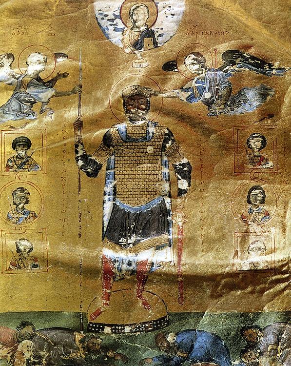 Salterio de Basil II (Artista Desconocido)