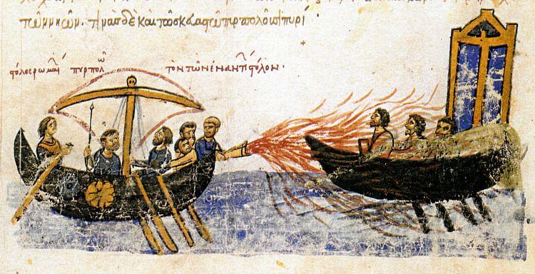 Greek Fire (Artista desconocido)