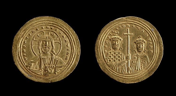 Nomisma Coin of Basil II (The British Museum)
