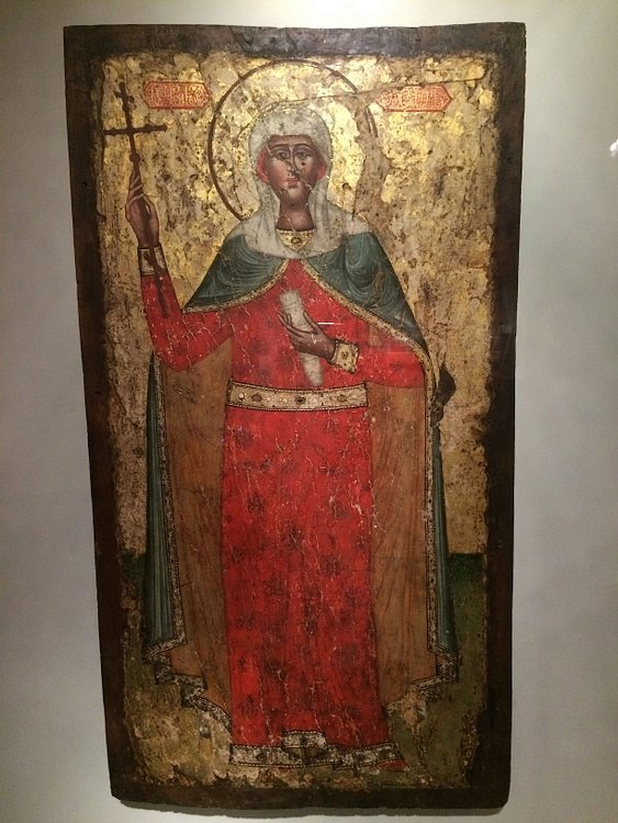 Painted Icon of St. Nino of Georgia
