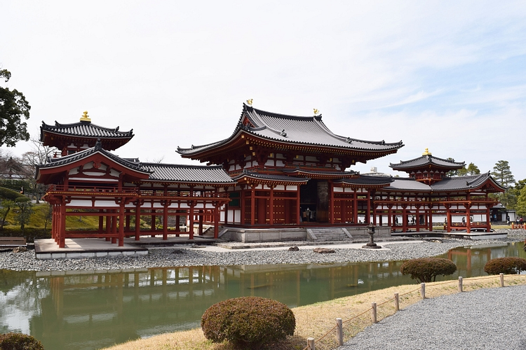 Phoenix Hall at Byodoin Temple
