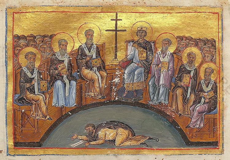 Seventh Ecumenical Council (Unknown Artist)