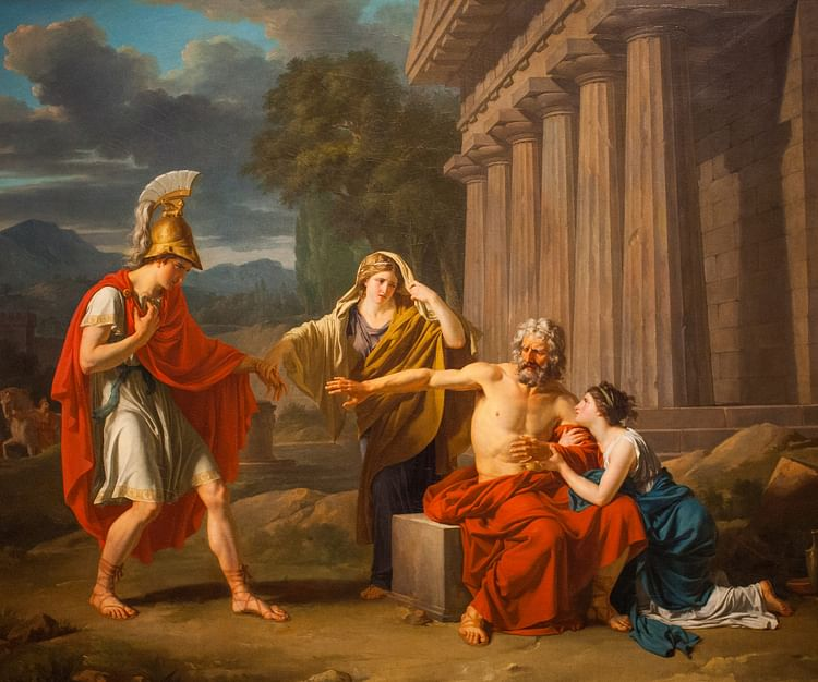 oedipus the great not As tragic and terrible as the story of the oedipus trilogy is, then, sophocles grants his audience the hope that the blows of fate lead not only to wisdom, but to transcendence previous sophocles biography.