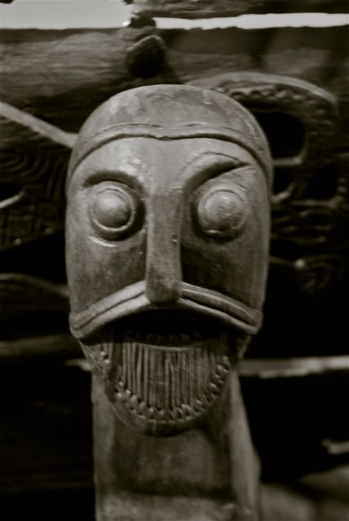 Carved Viking Head (Astrid Westvang)