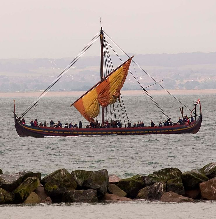 Viking Longship Replica (Illustration) - Ancient History ...