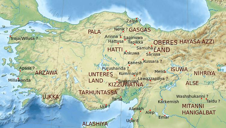 Bronze Age Anatolia (Semhur)