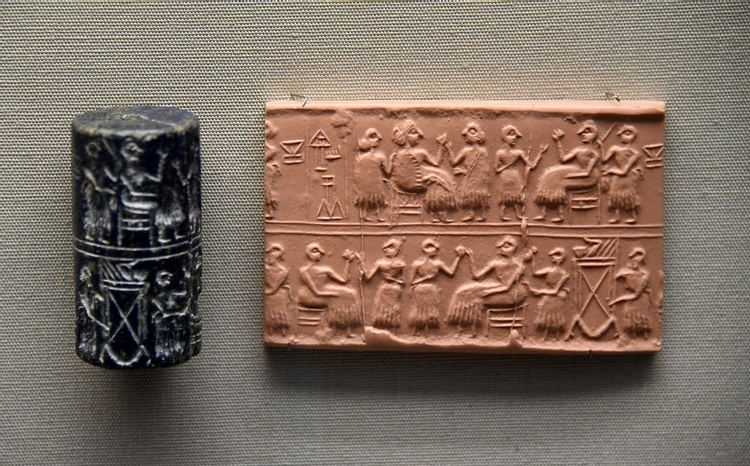 Cylinder Seal of Queen Puabi