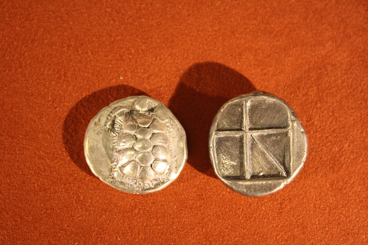 Silver Stater of Aegina