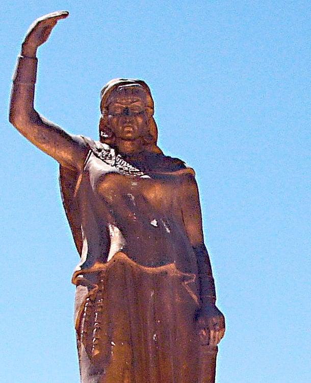 Estátua de Kahina (Numide05)