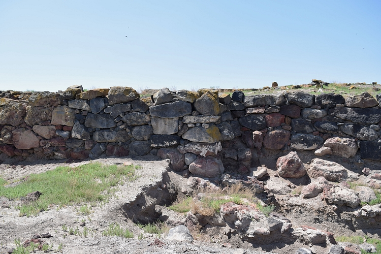 Ruins of the Metsamor Archaeological Site