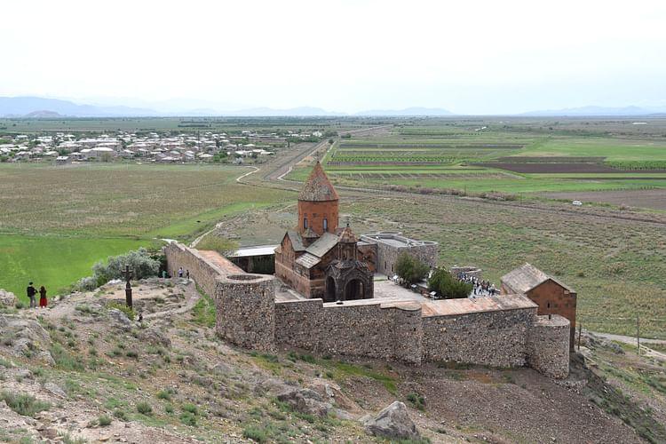 Monasterio Khor Virap de Armenia ()