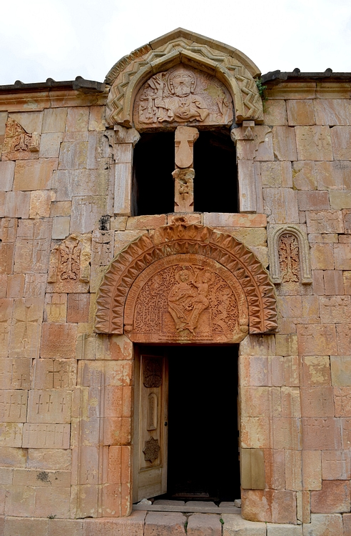 Façade of Surb Karapet Church Church at Noravank