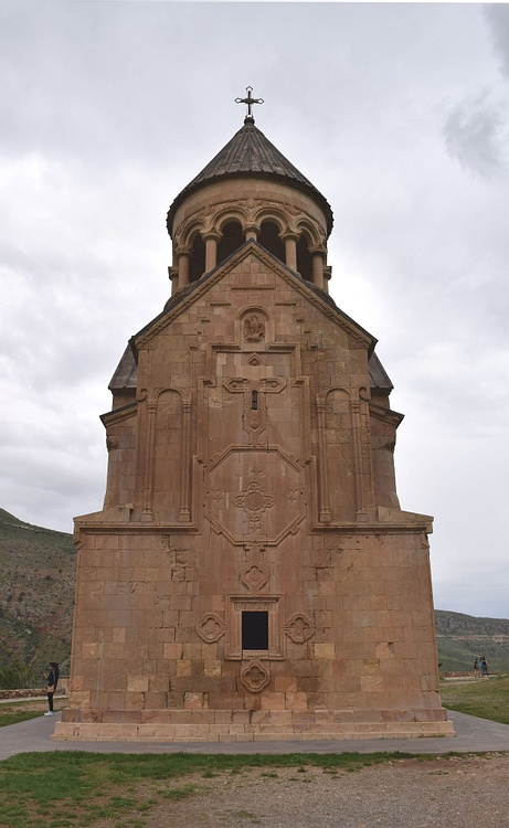 Back Façade of Surb Astvatsatsin Church
