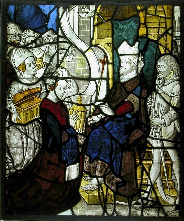 Solomon Receiving the Queen of Sheba (Metropolitan Museum of Art)