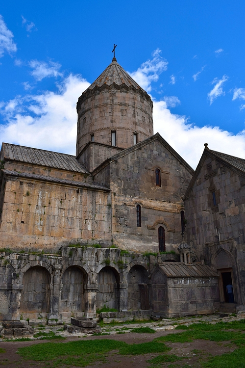 Exterior of Church of St. Pogos and Petros at Tatev Monastery
