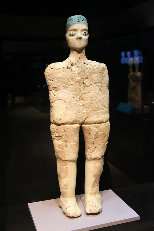 Standing Human Statue from Ain Ghazal