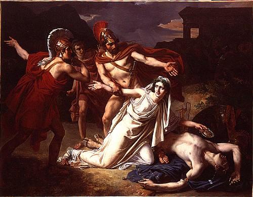 Antigone with Polynices' Body (VladoubidoOo)
