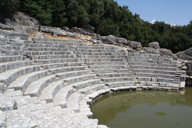 Seating, Theatre of Butrint