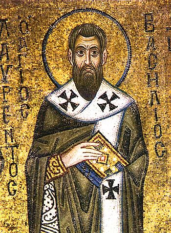 Icon of Saint Basil (Artista Desconocido)