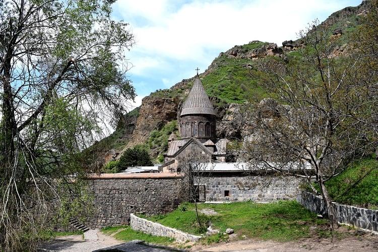 Monasterio Geghard en Armenia ()