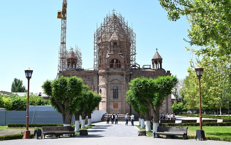 Exterior of Etchmiadzin Cathedral