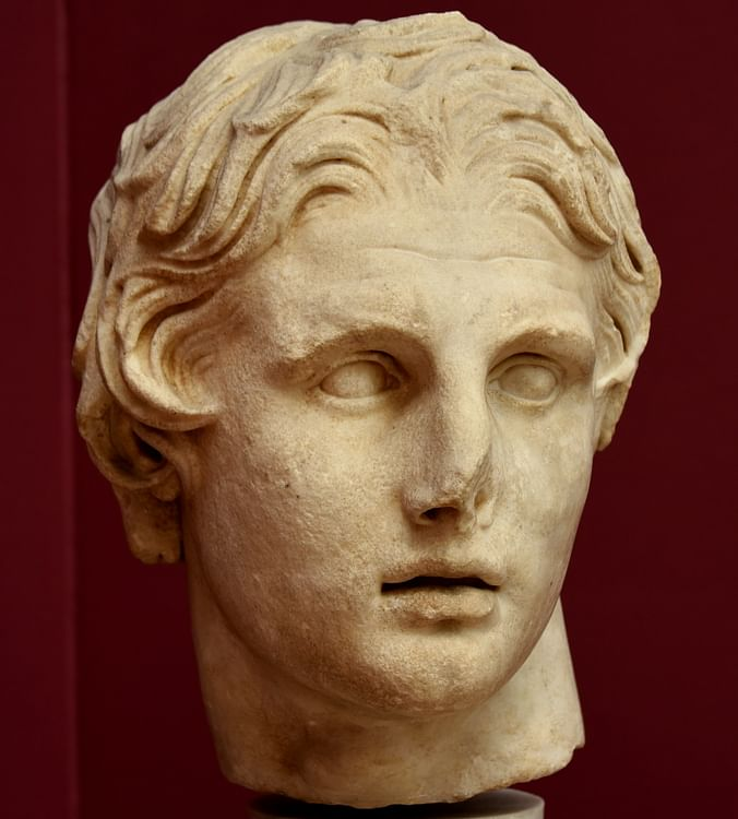 Head of Alexander the Great from Pergamon