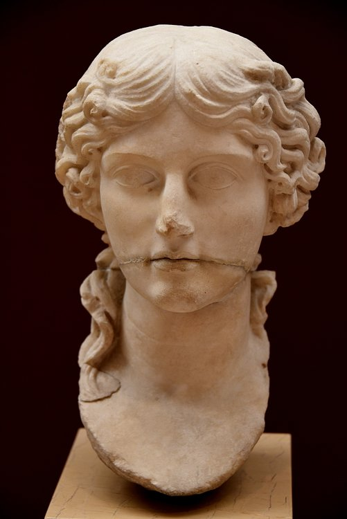 Bust of Agrippina the Elder from Pergamon