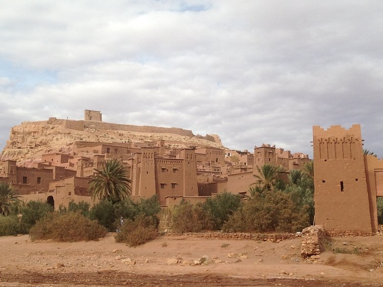Entrance to the Ksar of Aït Benhaddou
