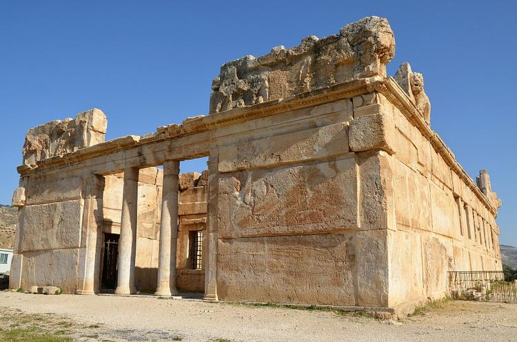 Hellenistic Palace Qasr Al Abd Illustration Ancient