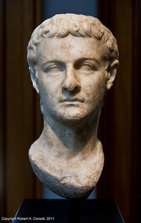 Caligula, Getty Villa