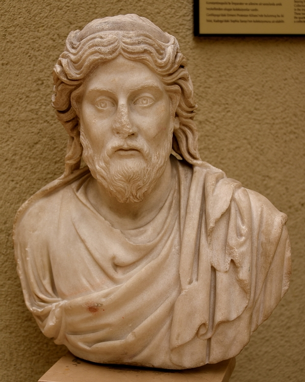 Bust of a Philosopher or Monk from Gedikpaşa