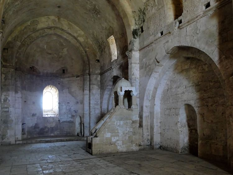 Barrel-vaulted Chapel, Krak des Chevaliers
