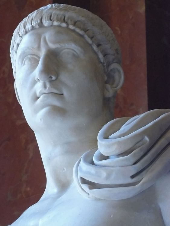 Roman Emperor Otho (Mary Harrsch (Photographed at the Musèe du Louvre))