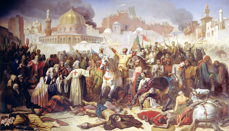Taking of Jerusalem by the Crusaders