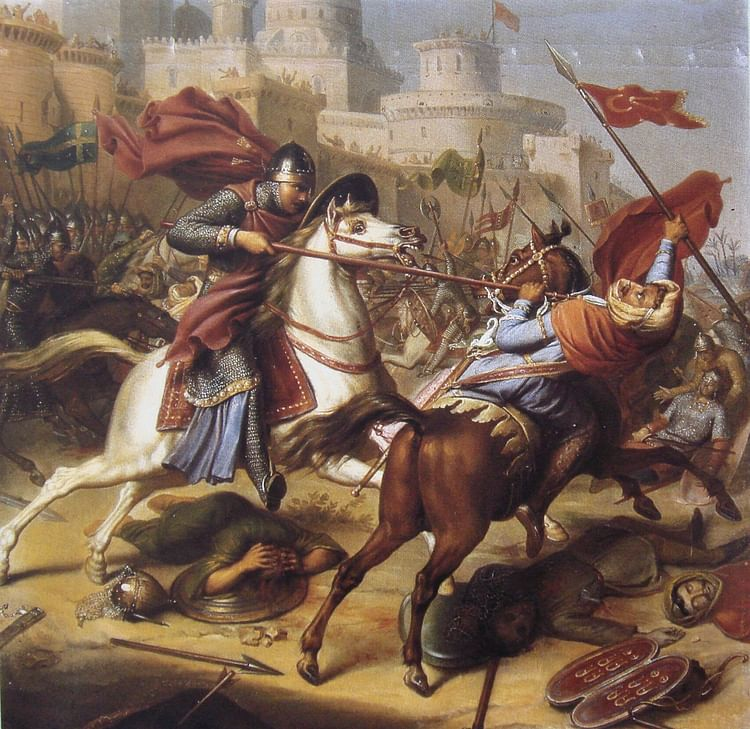 Robert of Normandy at the Siege of Antioch