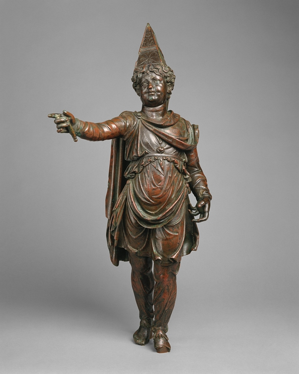 Statuette of a Boy in Armenian dress