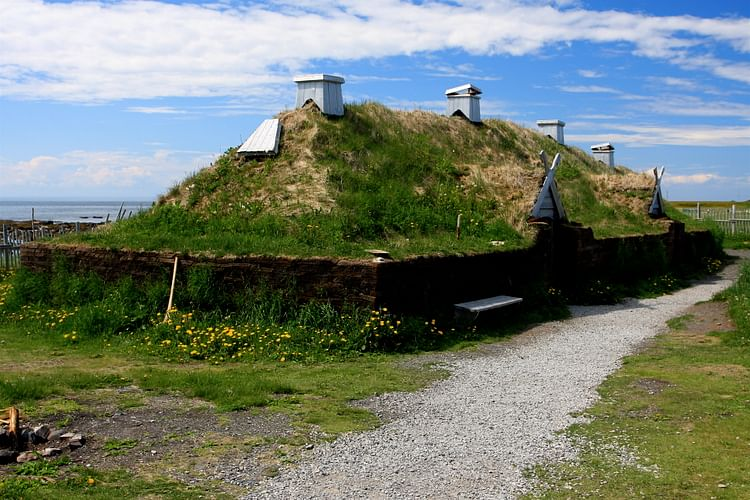 L'Anse aux Meadows - Reconstructed Hall