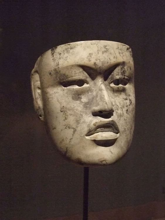 Jadeite Olmec Mask (Mary Harrsch (Photographed at the Dallas Museum of Art))