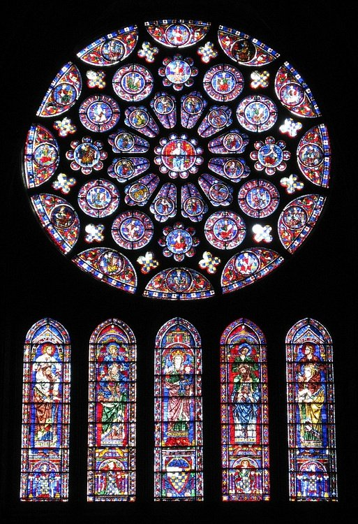 South Rose Window, Chartres Cathedral