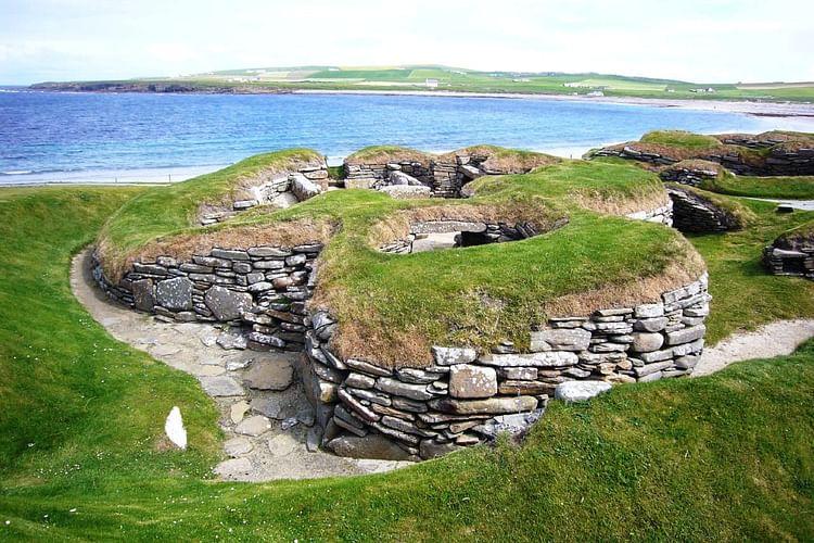 Skara Brae, Orkney (livro amarelo)