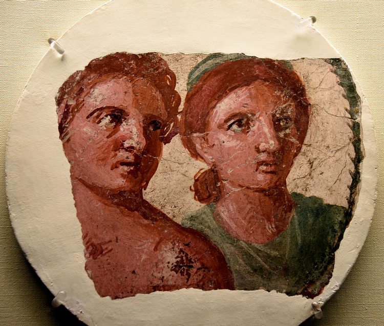 Portrait of a Man and Woman from Pompeii