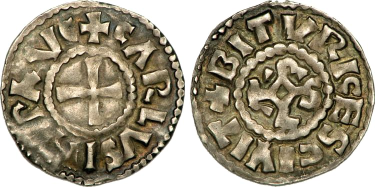 Coin of Charles the Simple