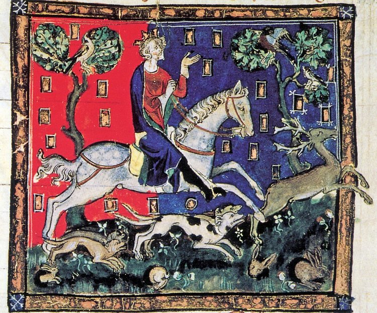 King John of England Hunting