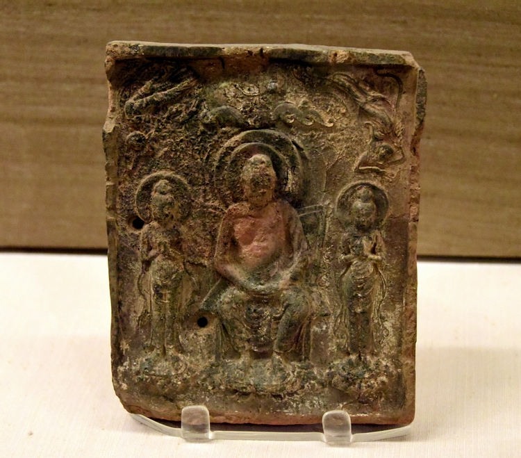 Buddha Plaque from Japan