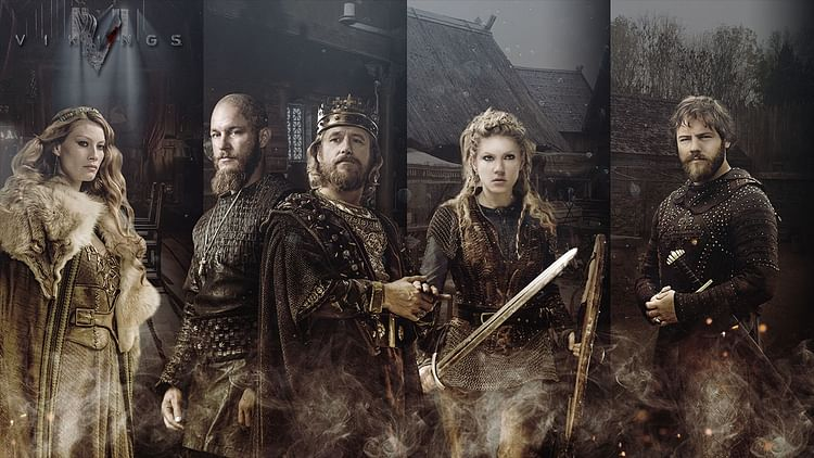 Publicity Still, Vikings TV Show by HISTORY Channel