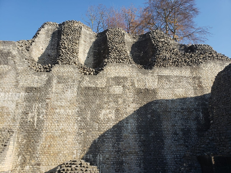 Walls of Augusta Raurica's Theater
