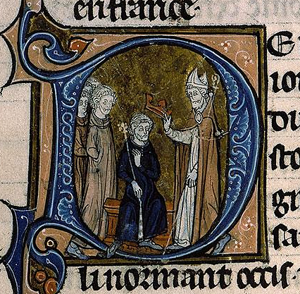 Coronation of Odo of West Francia