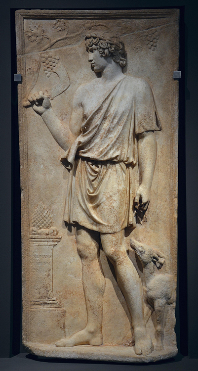 Antinous as Silvanus
