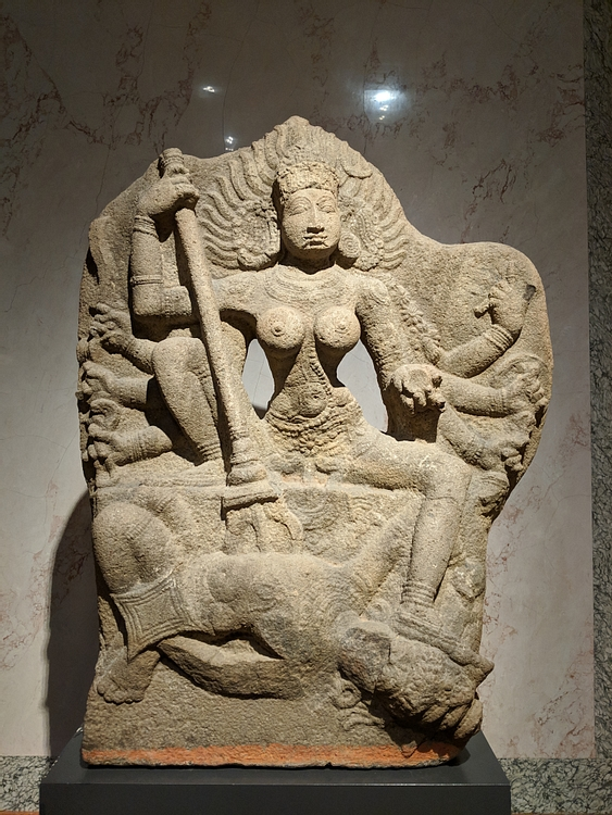 Durga Slays Mahisha